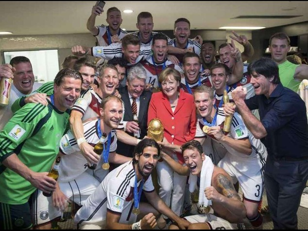 Germania Campione del Mondo. La gioia tedesca per quarto titolo