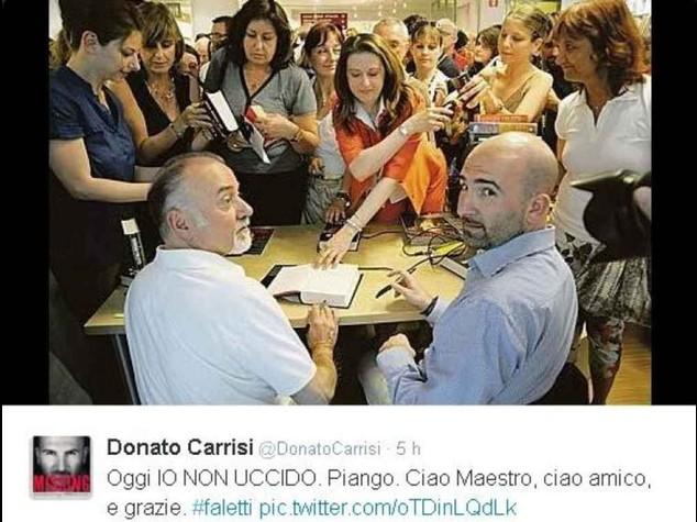 Da Carrisi a De Cataldo, Faletti ricordato dai colleghi scrittori