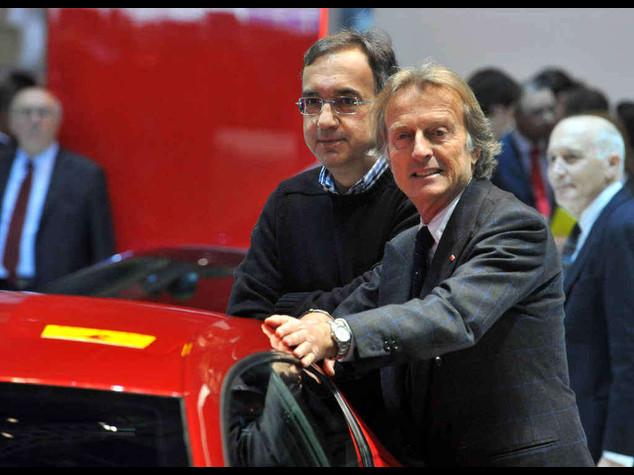 Ferrari: l'addio di Montezemolo Marchionne nuovo presidente