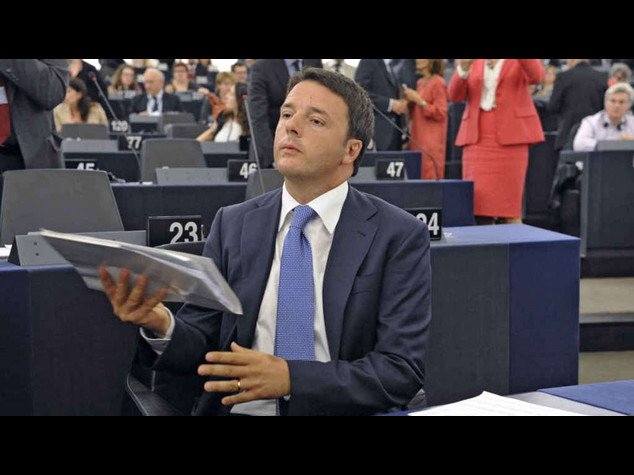 Ue: Renzi, l'Italia chiede solo rispetto