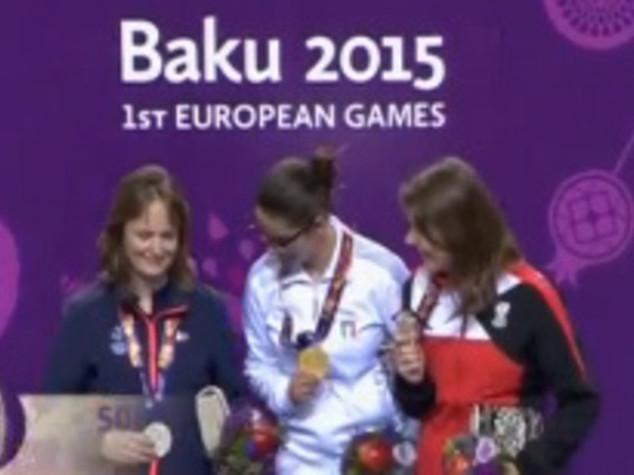 Italy at 11 medals at European Games in Baku