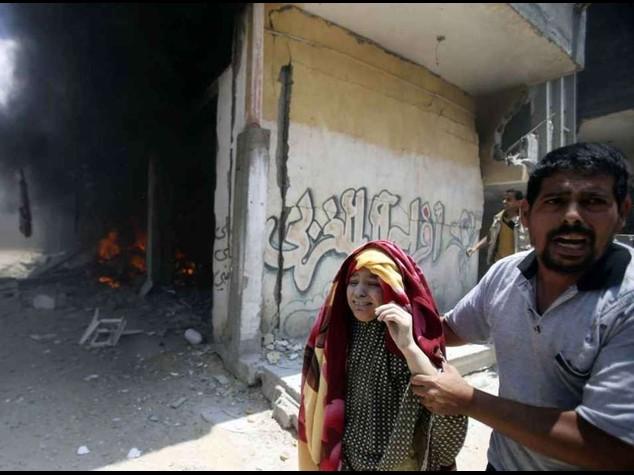 Israel intensifies attack, 40 dead in Gaza neighbourhood