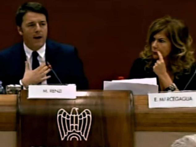 """Renzi: articolo 18 era ostacolo  Landini: """"Non decide uno solo"""""""