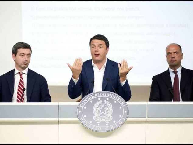 """Renzi,riforma giustizia in 12 punti  """"Via a processo civile telematico"""""""