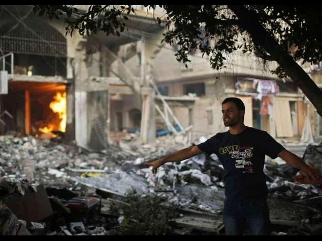 """A Gaza 100 morti e 600 feriti Hamas """"mesi di guerra"""""""