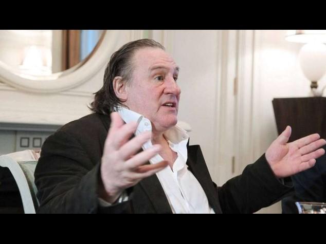 "Ge'rard Depardieu: ""Ho mangiato due leoni"""