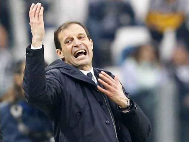 Oggi Juventus-Cagliari, Allegri sara' in panchina