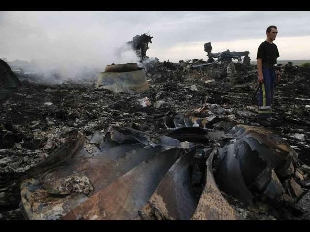 Aereo abbattuto: no a tregua umanitaria per filorussi di Donetsk
