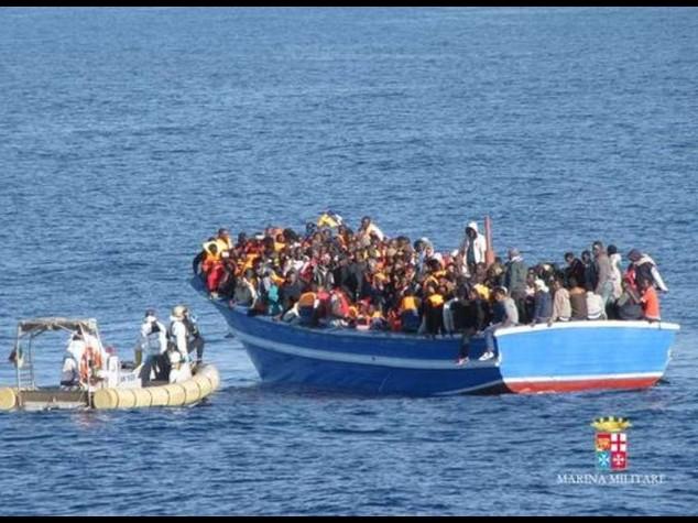 Immigrati: 3.419 morti nel Mediterraneo nel 2014, cifra record
