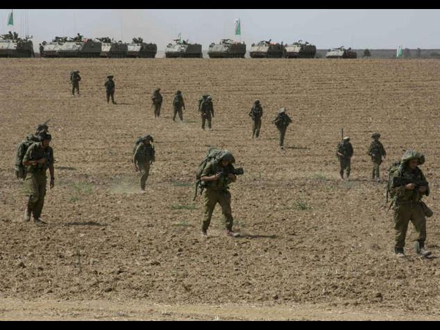 Offensiva di terra di Israele a Gaza -Video Netanyahu 'operazioni piu'ampie'