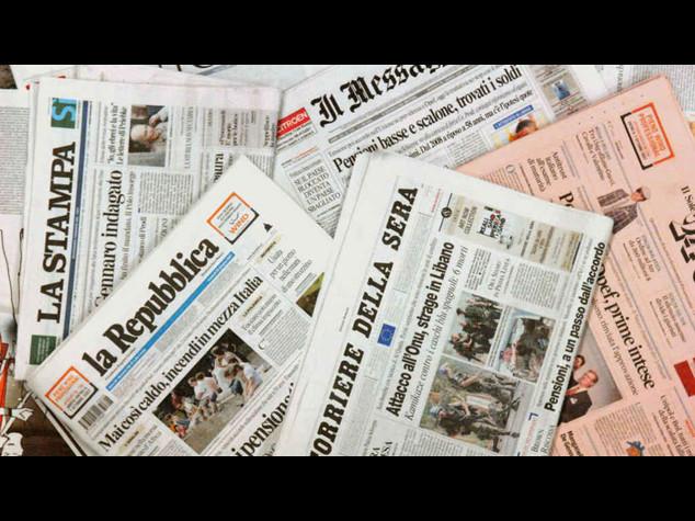 In 25 anni persi 3 milioni di copie di quotidiani, crescono i siti web