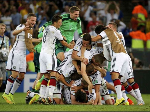 Football: World Cup final breaks Facebook record