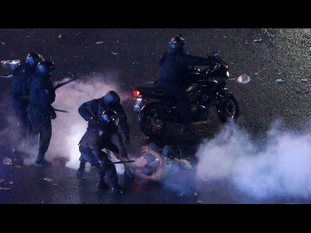 Brasile 2014:  Argentina, incidenti a Buenos Aires dopo sconfitta