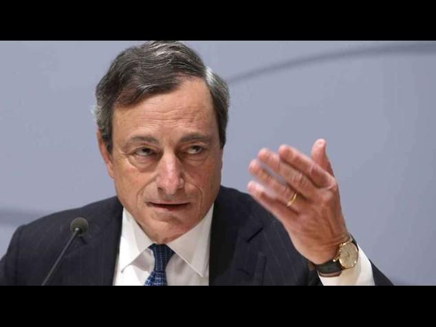 Bce: Draghi, pronti a nuovi interventi per sostenere la crescita