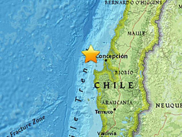Il Cile trema: sisma di 6,4 a largo della costa