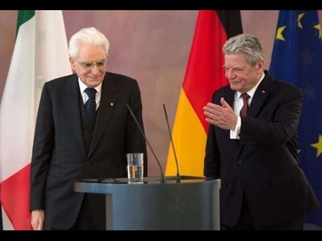 Mattarella incassa doppio ok da Germania su riforme rapide e Ue