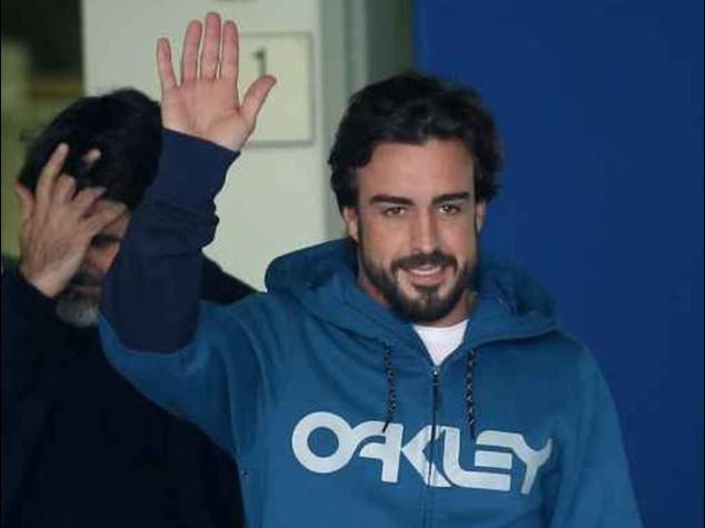 """F. 1: Alonso, e' giallo; """"ha perso la memoria per una settimana"""""""