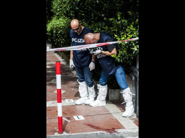 Ucciso 'cassiere' banda Mokbel Nell'agguato ferito un killer - Foto
