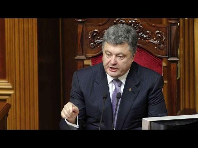 """Poroshenko propone ai ribelli ucraini """"nuovi colloqui"""""""