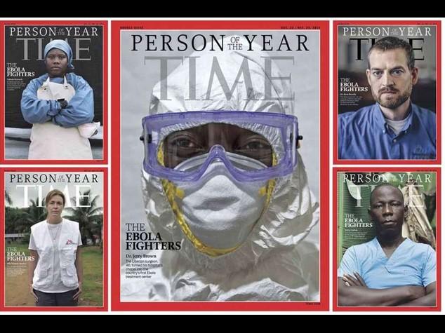 """Medici anti-ebola sono personaggio dell'anno 2014 di """"Time"""""""