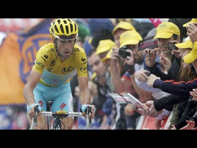 Ciclismo: Tour2014, Nibali mantiene la maglia gialla