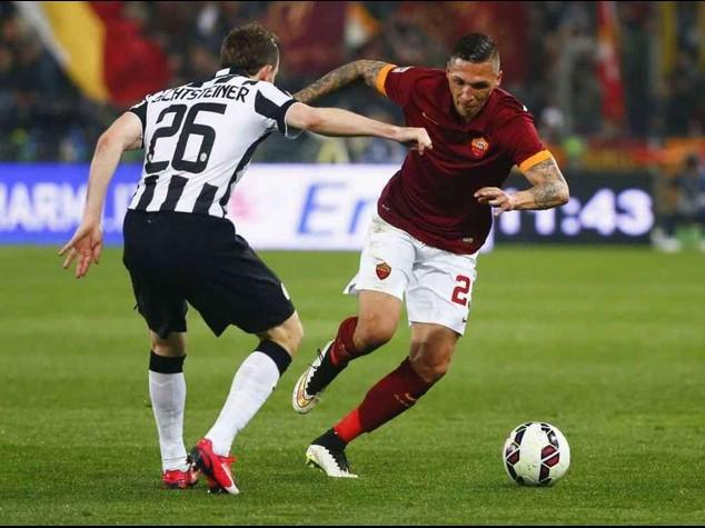 """Calcio: Roma-Juve 1-1, bianconeri """"ipotecano"""" lo scudetto"""