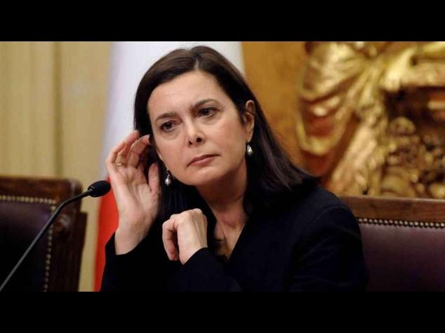 """Renzi accusa Boldrini """"Andata oltre i compiti istituzionali"""""""