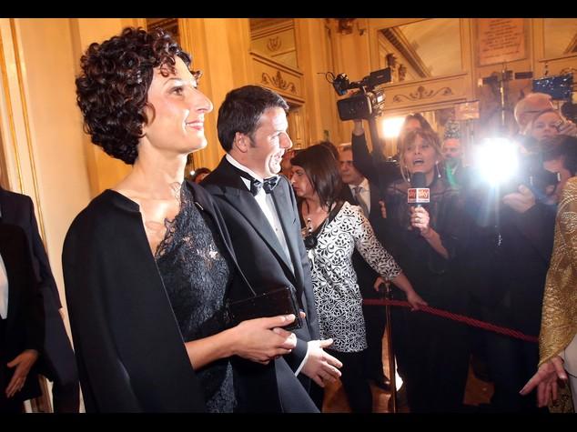 Renzi debutta alla 'prima' della Scala