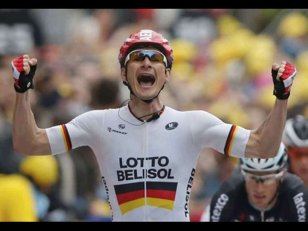 Tour 2014: Greipel wins stage to Reims in a sprint