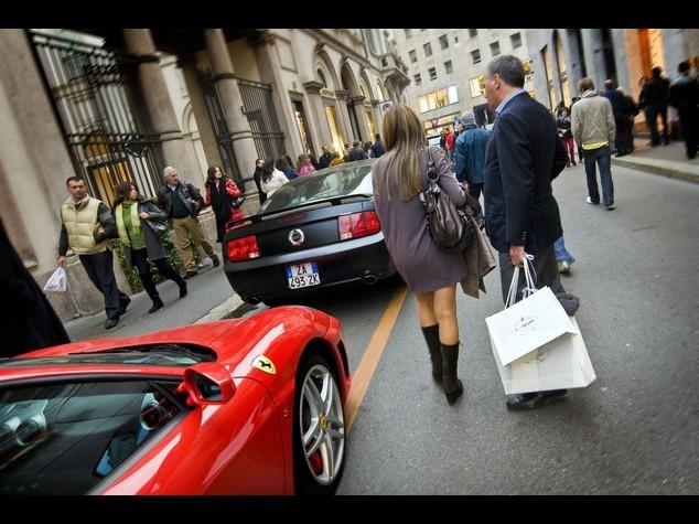 Canoni: boom per le strade del lusso, Monte Napoleone da record