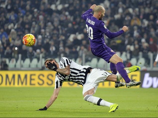 Serie A, la Juve batte anche la Fiorentina