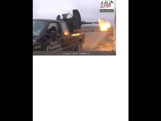 Incubo per un idraulico Usa, il suo pick-up usato dall'Isis