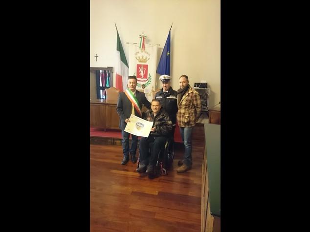 Cittadinanza europea a Gianfranco Paglia, eroe delle missioni di pace