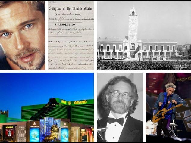 I fatti del 18 dicembre, dall'abolizione della schiavitù al compleanno di Brad Pitt