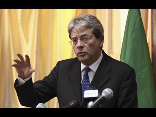 Libia: Gentiloni, Italia pronta a guidare missione