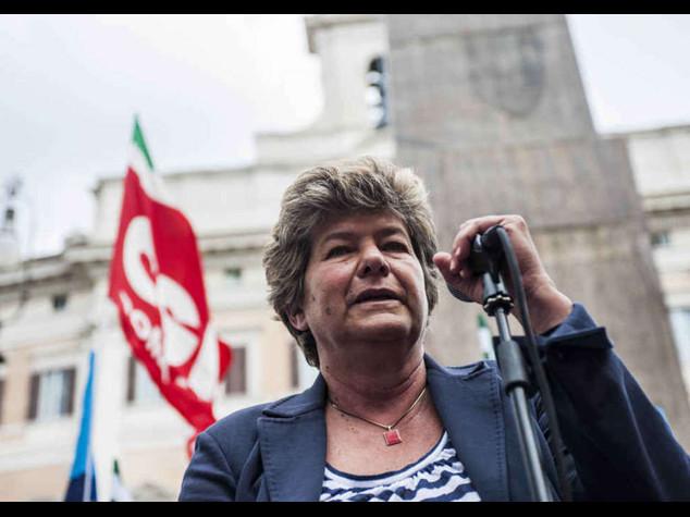 """Camusso attacco diretto a Renzi  Premier, """"avete difeso ideologie"""""""