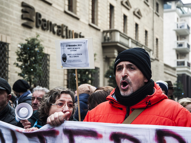 RPT-Banche, sindacati minacciano sciopero dopo parole Renzi su occupati
