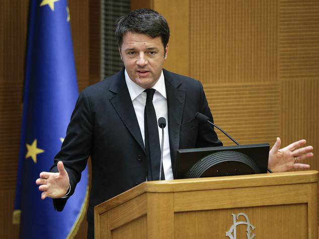 Renzi, ora il sistema banche è più solido