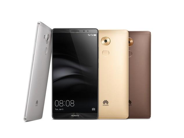 Huawei presenta Mate 8, da febbraio a 600 euro