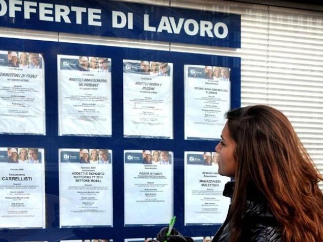 Istat: quasi mezzo milione di disoccupati in meno in 1 anno