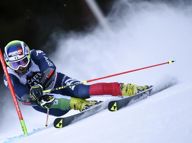 Coppa del mondo sci, nessuna frattura per Moelgg