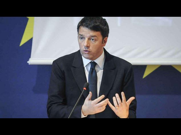 """Renzi, """"Non lasceremo Roma in mano ai ladri. Chi e' colpevole paghi"""""""