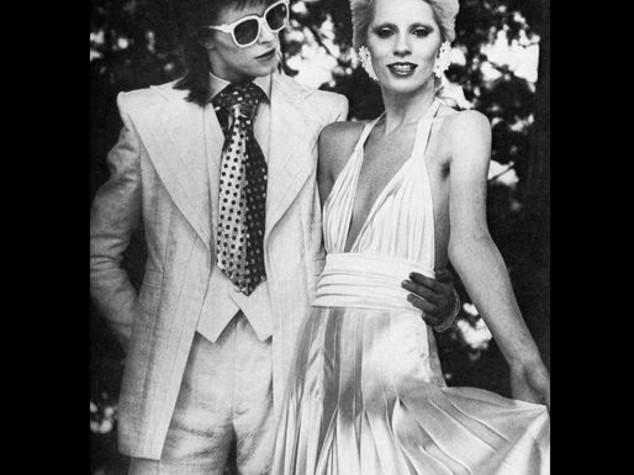 Ex moglie Angie non sapeva che Bowie era morto