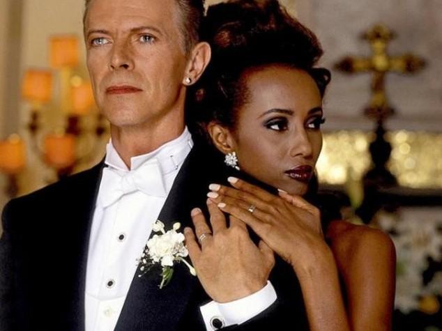 Da Mick Jagger a Iman, gli amori del Duca bianco - Foto