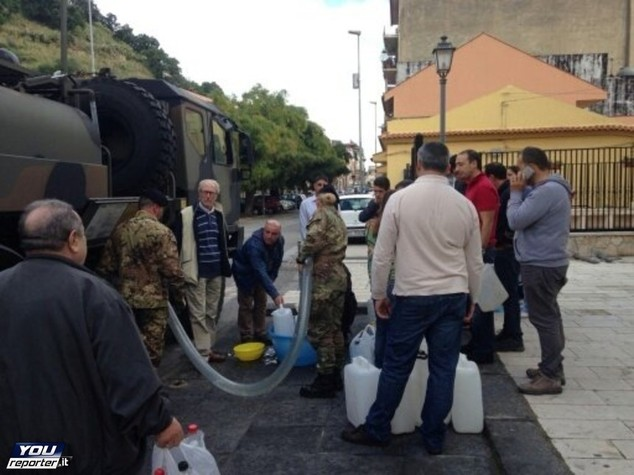 Messina di nuovo senza acqua, frane minacciano condotta
