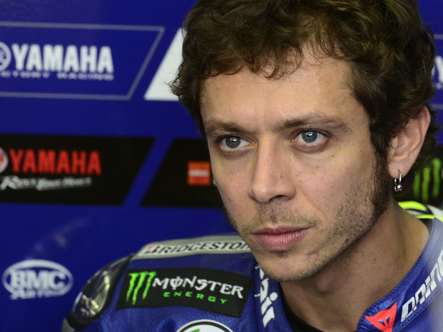 "MotoGp: Rossi, ""frustrante i test con questo meteo"""