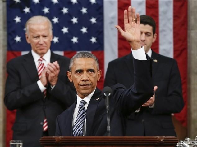 Obama al Congresso: orgoglioso di quanto fatto, USA ancora leader
