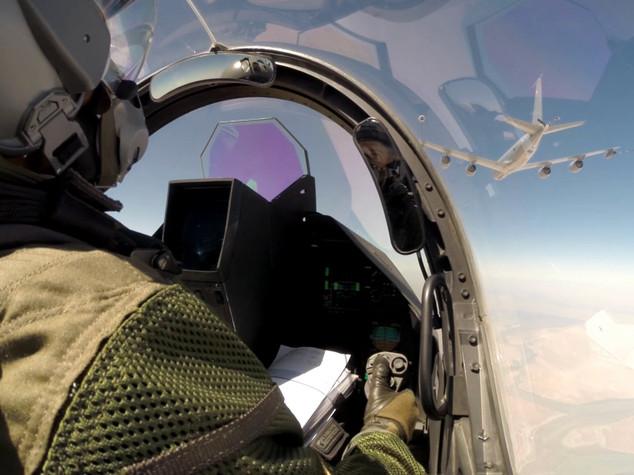 Droni e caccia israeliani spiati da Usa e Londra