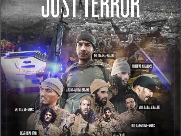 Ecco il commando di Parigi, Isis pubblica le foto