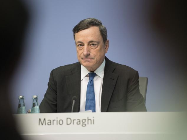 Draghi, senza interventi della Bce crescita più bassa